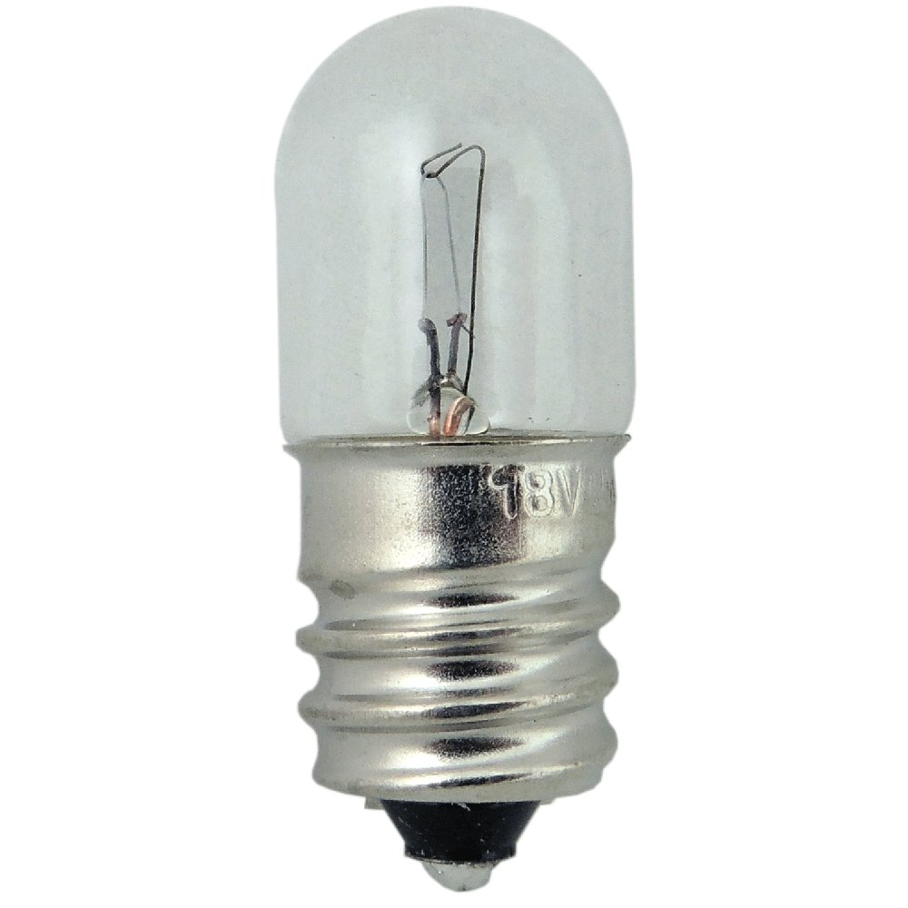 GIRARD SUDRON LED FILAMENT MATT SATIN 1W MES//E10 STRAIGHT CHANDELIER BULB