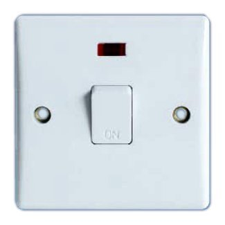 20Amp Double Pole Switch With Pilot Light