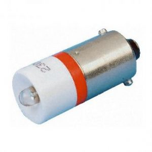 led indicator 6v ba9s white
