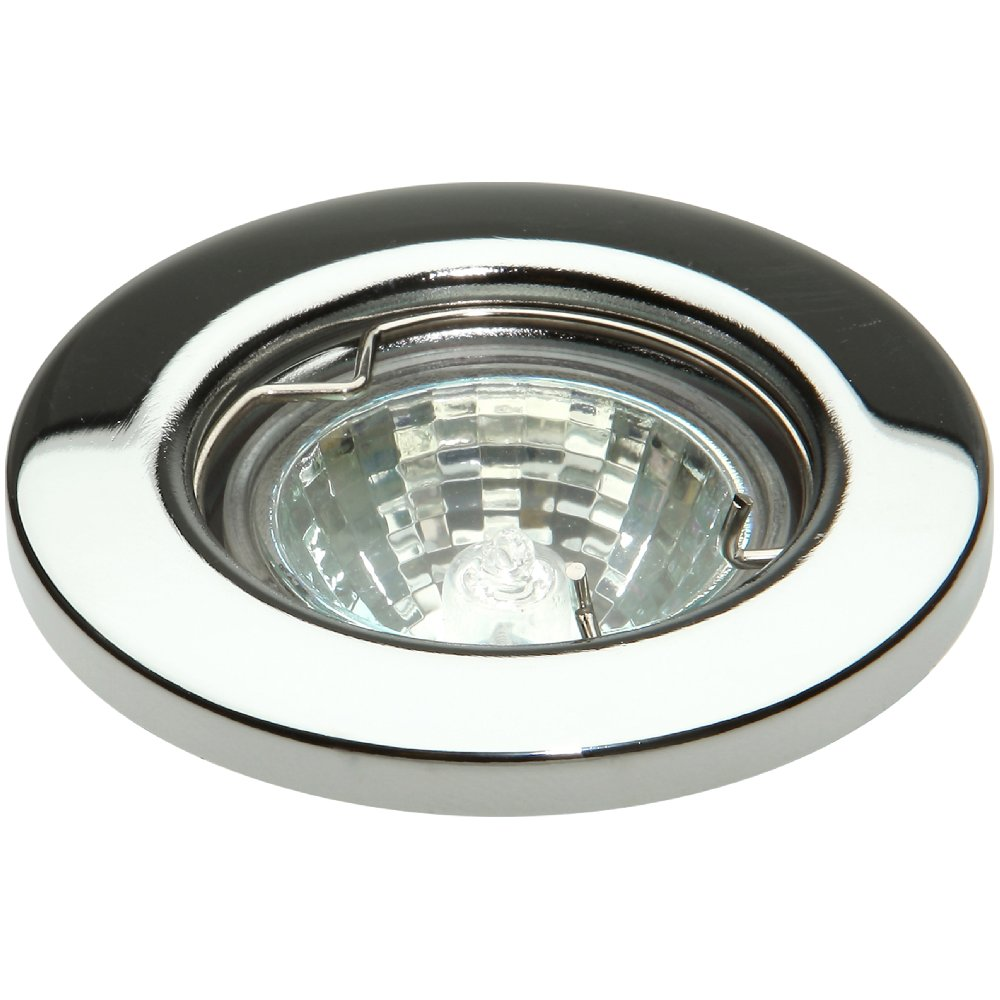 knightsbridge low voltage downlight 35mm chrome for mr11 lamps