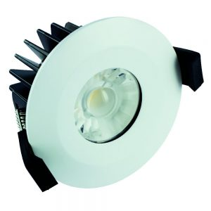 6w led downlighter ip65 4000k dimmable