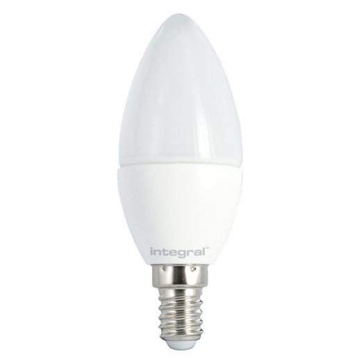 Energizer 6w 40w Non Dim Led Clear Candle Ses E14 Warm: Frosted LED Candle 5.5W (40W) 2700K 470lm E14 Non-Dimmable