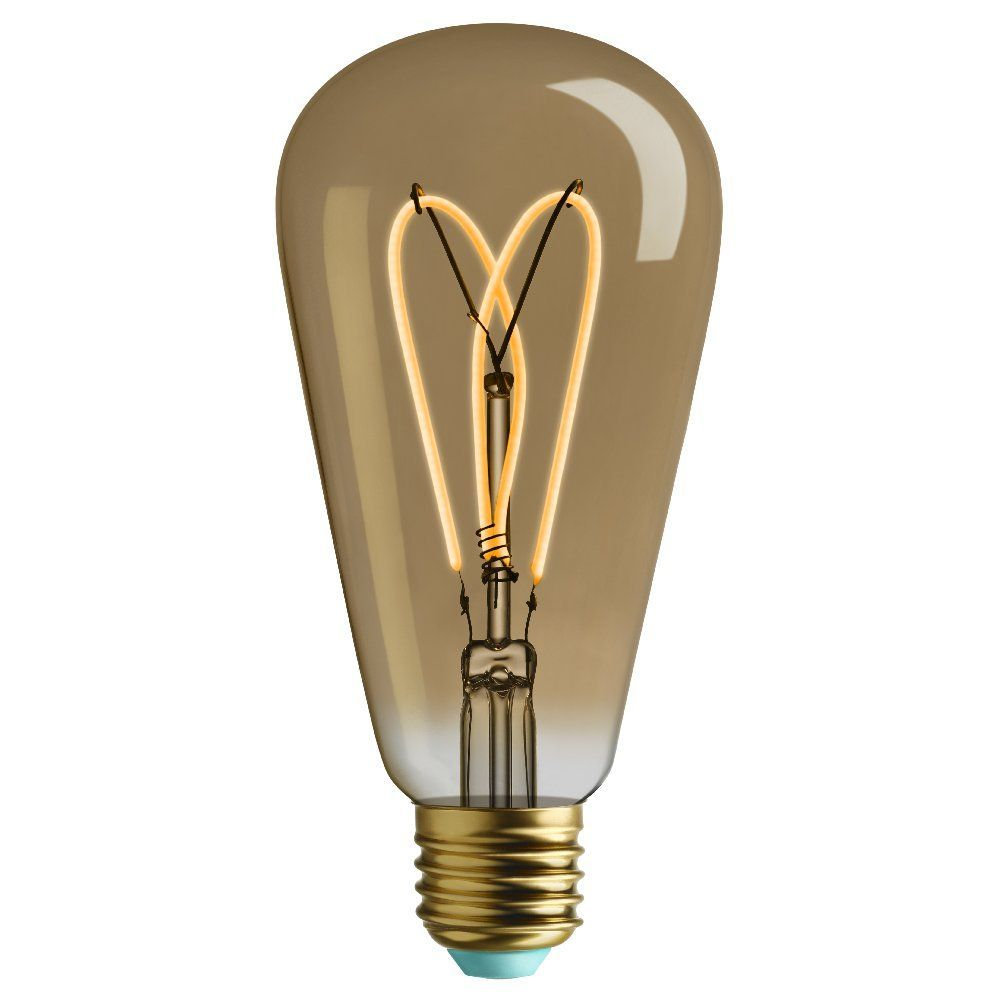 plumen wattnott whirly willis gold st64 4w led e27 dimmable international lamps. Black Bedroom Furniture Sets. Home Design Ideas