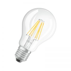 osram 6.5w 60w led filament gls e27 dimmable